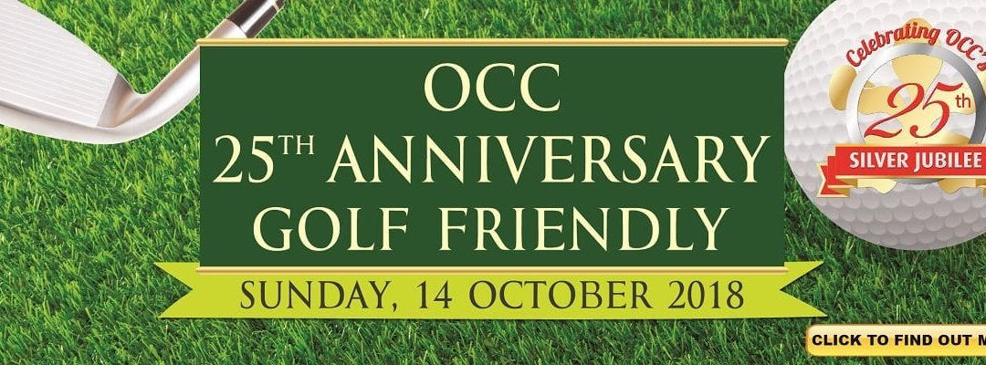 OCC 25th Anniversary Golf Friendly