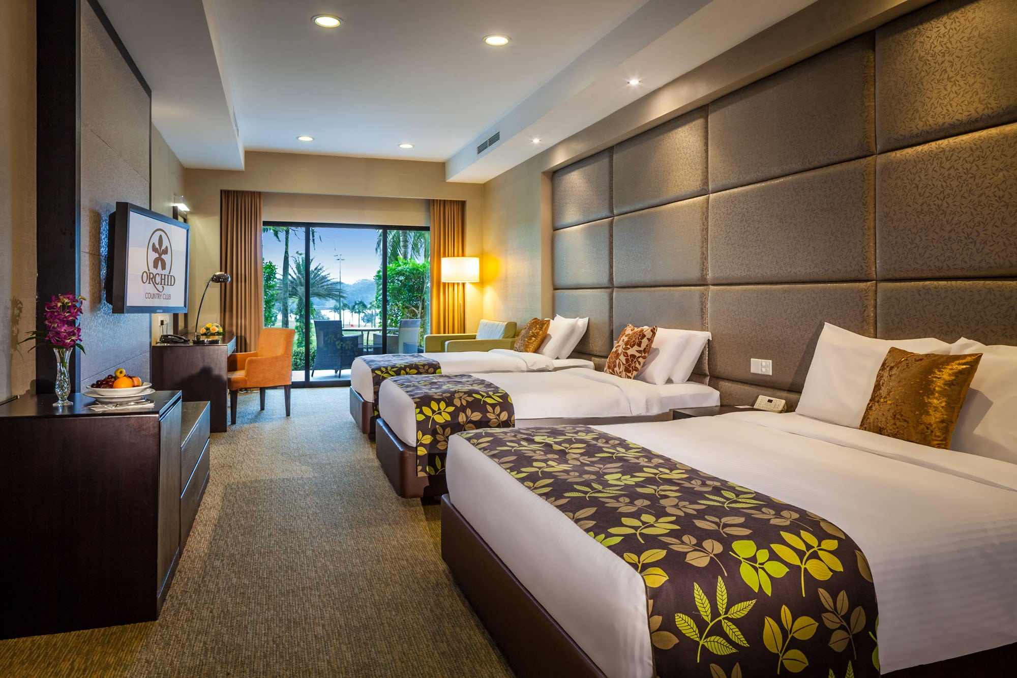 Spacious and affordable Family Deluxe Room at OCC Hotel Singapore