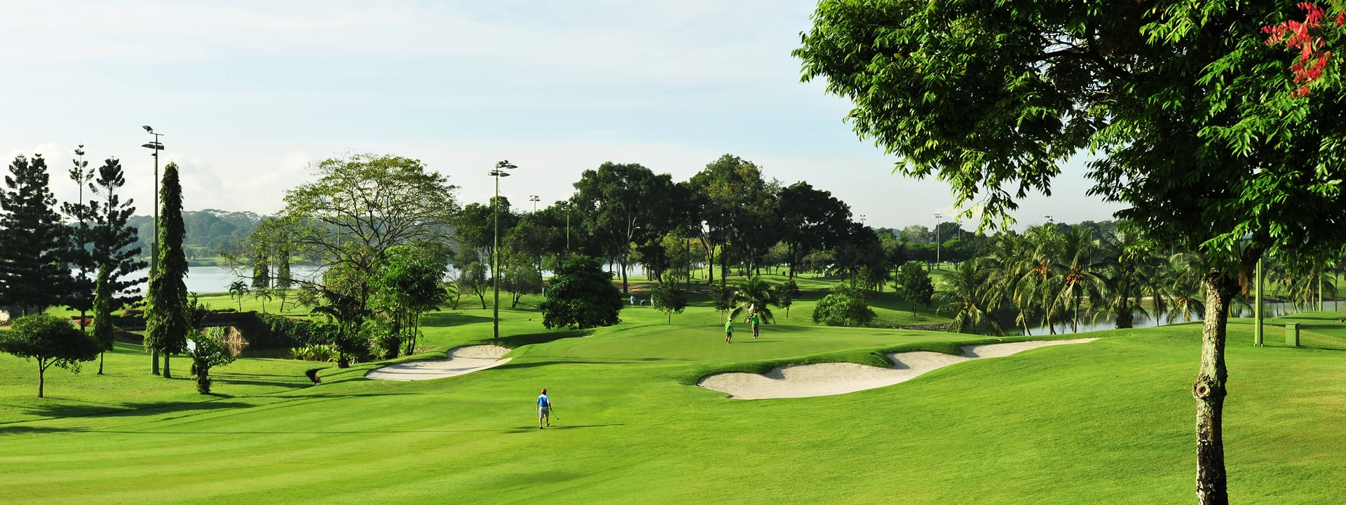 Golf course at the Orchid Country Club