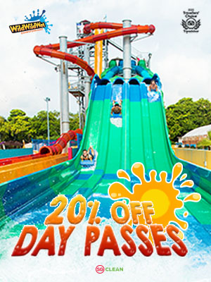 WILD WILD WET  20% OFF DAY PASSES