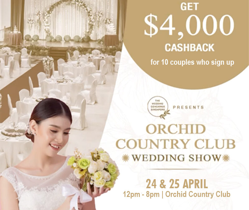Orchid Country Club Wedding Show 2021