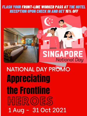 Hotel National Day Package